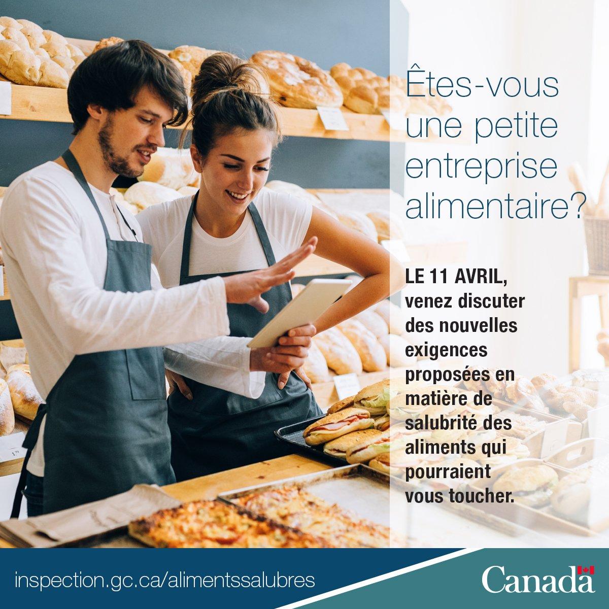 Clavardage en direct le 11 avril : Des réponses à vos questions sur le projet de Règl. #AlimentsSalubres #SMEPME https://t.co/nN2IHMVOrU https://t.co/TxzN47Xpz7