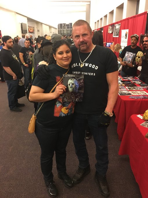 Happy Birthday to Kane Hodder. Had the privilege of meeting him at