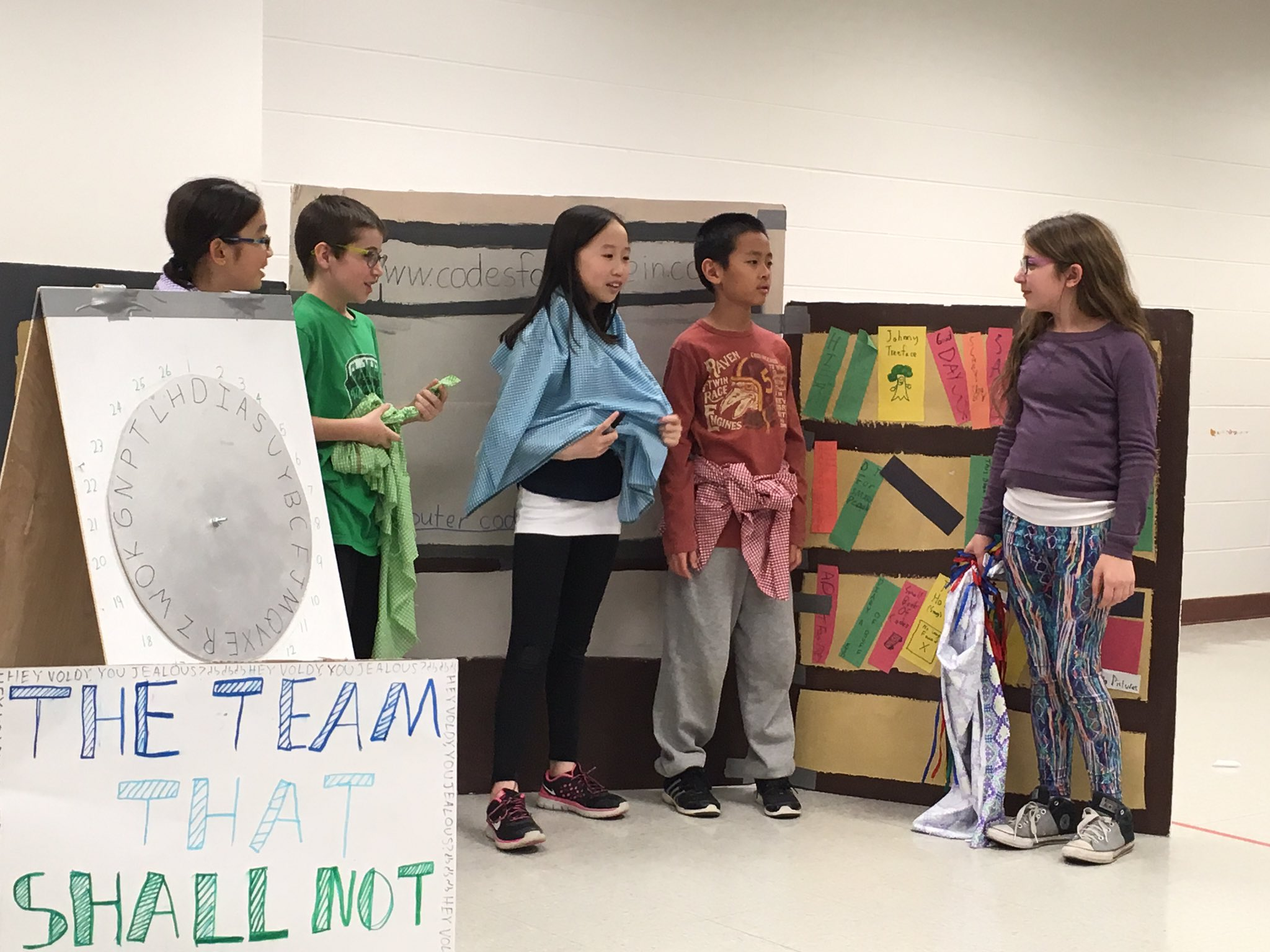 Breaking news! #idodi team saves library - great performance #sp109 The Team Who Shall Not Be Named. #engage109 https://t.co/U4I3Rv7eyB