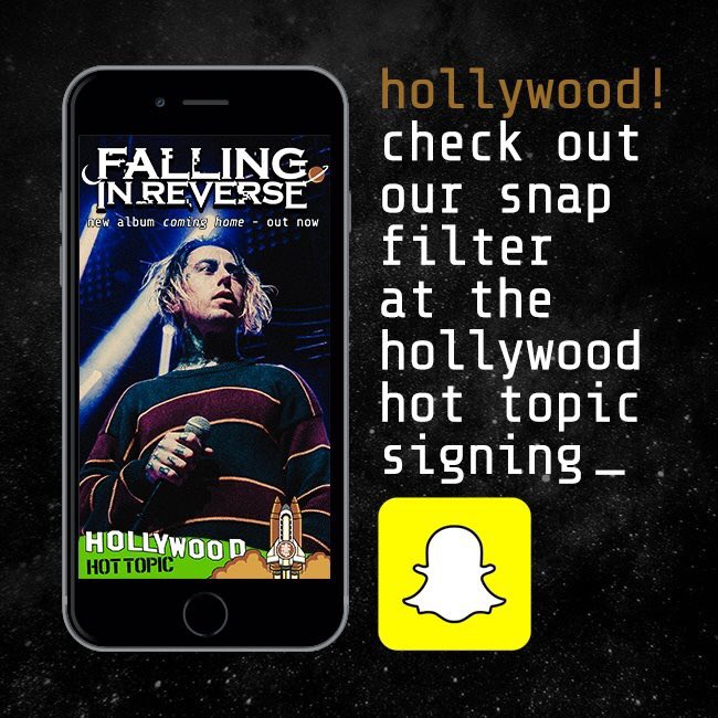 Falling in reverse on twitter are you coming to our meet greet falling in reverse on twitter are you coming to our meet greet in a couple hours at the hottopic in hollywood make sure you check out our coming home m4hsunfo