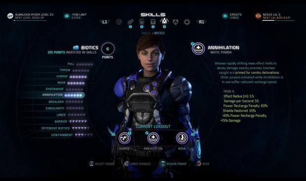 Mass Effect Andromeda Best Best Vanguard Build
