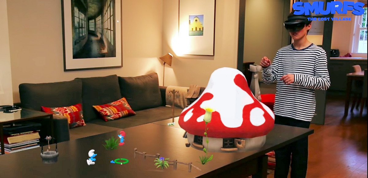 Smurfs: The Lost Village is the first big budget HoloLens game (video)