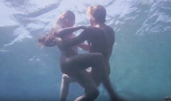 Brooke shields naked the blue lagoon gif on gifer