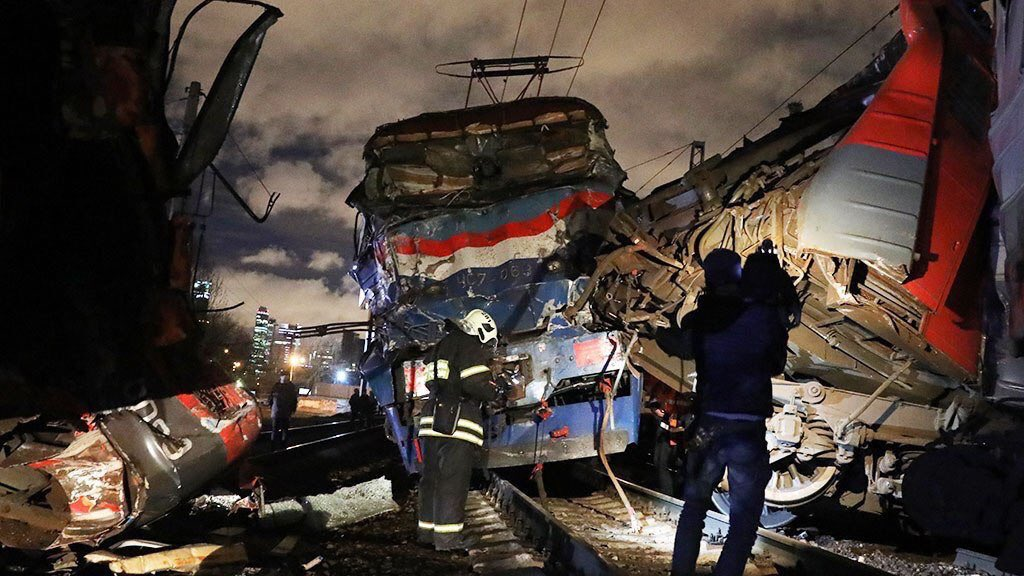 Brest-Moscow train hit another train in Moscow. 30 wounded