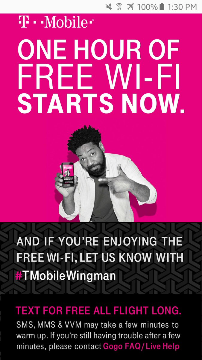 T Mobile On Twitter We Got You Ray Have A Safe And Connected Flight Channeyt