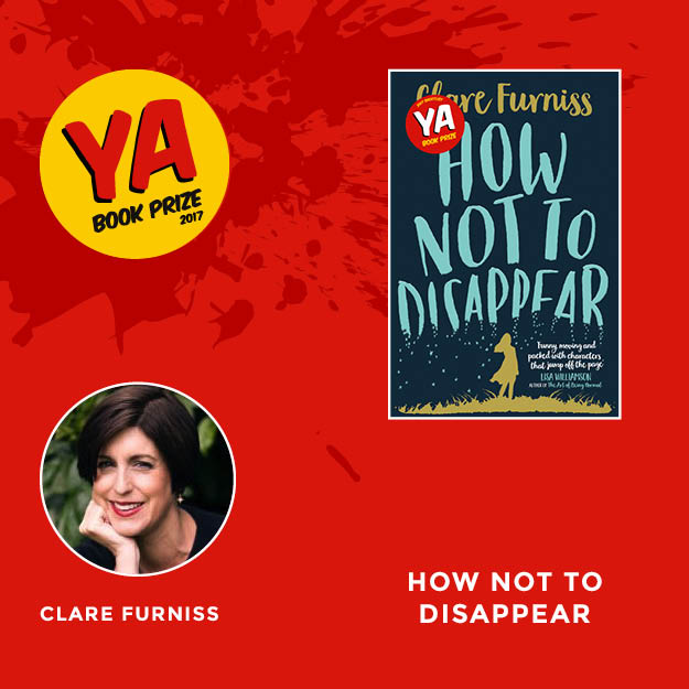 This week we're on #TeamFurniss! Tell us why How Not to Disappear should win and join our chat with @ClareFurniss at 8pm on Tuesday #YA10 https://t.co/mpHR88vlQ9