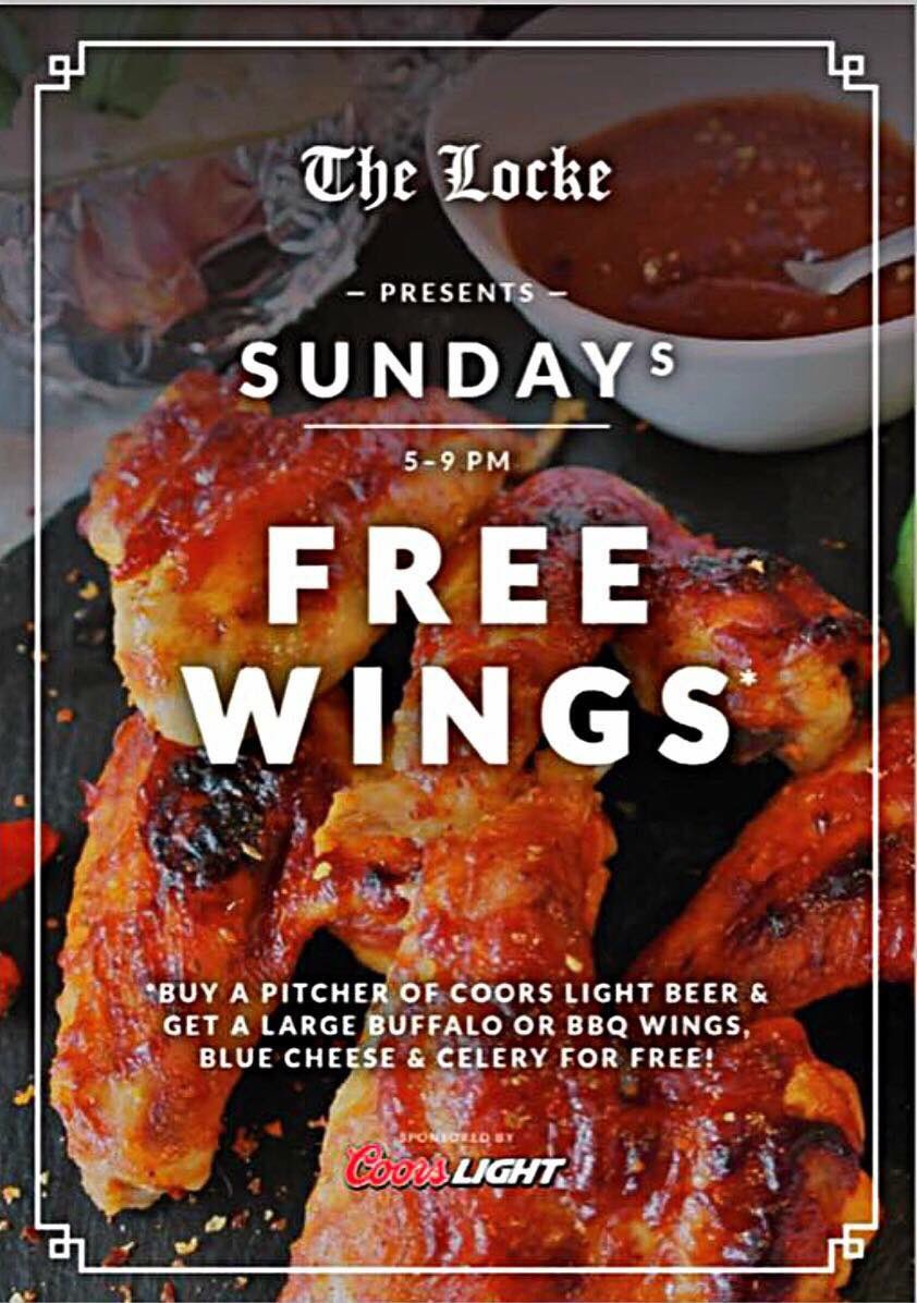 The Locke Bar On Twitter These Wings Are Flying Out The Door Every