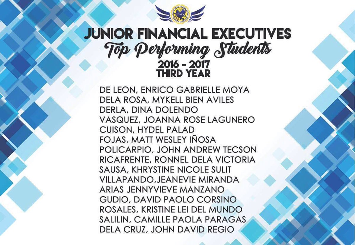 jfinex adu on twitter here are the top performing students for the
