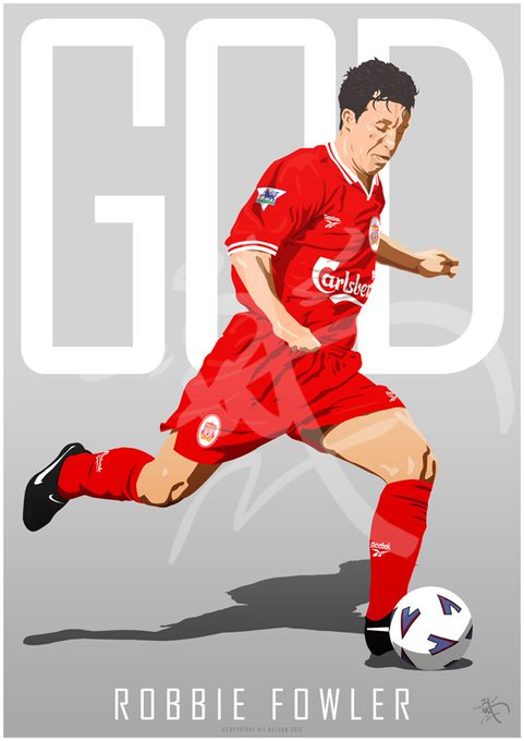 Happy birthday, Robbie Fowler! One of the best strikers in Liverpool\s history is 42 today!