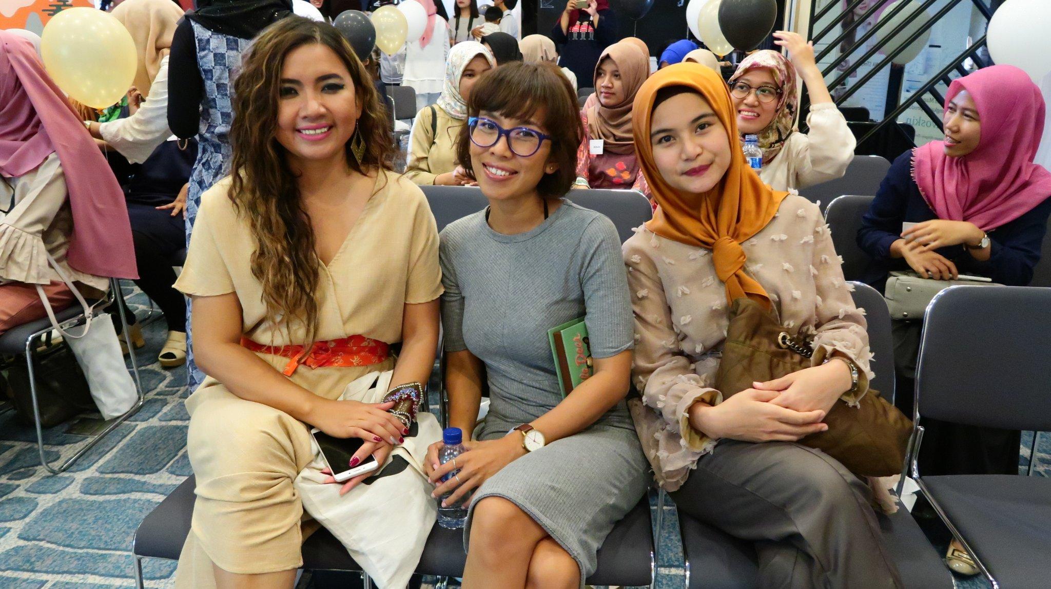 Seru sekali di Jogja hari ini bersama @GirlsintechID dan #PerempuanPunyaKarya https://t.co/dRF35juPs2