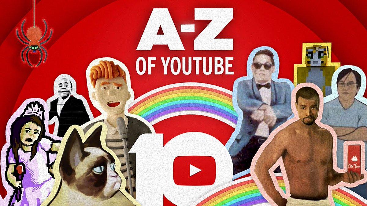 The #A-z of #Youtube: Celebrating #10 Years - #ClipTrends #VideoTrends #Tr #10_Years #10_Years_Of_Youtube #10y...  http:// xuri.co/VtCKD8  &nbsp;  <br>http://pic.twitter.com/c8NxePNk69