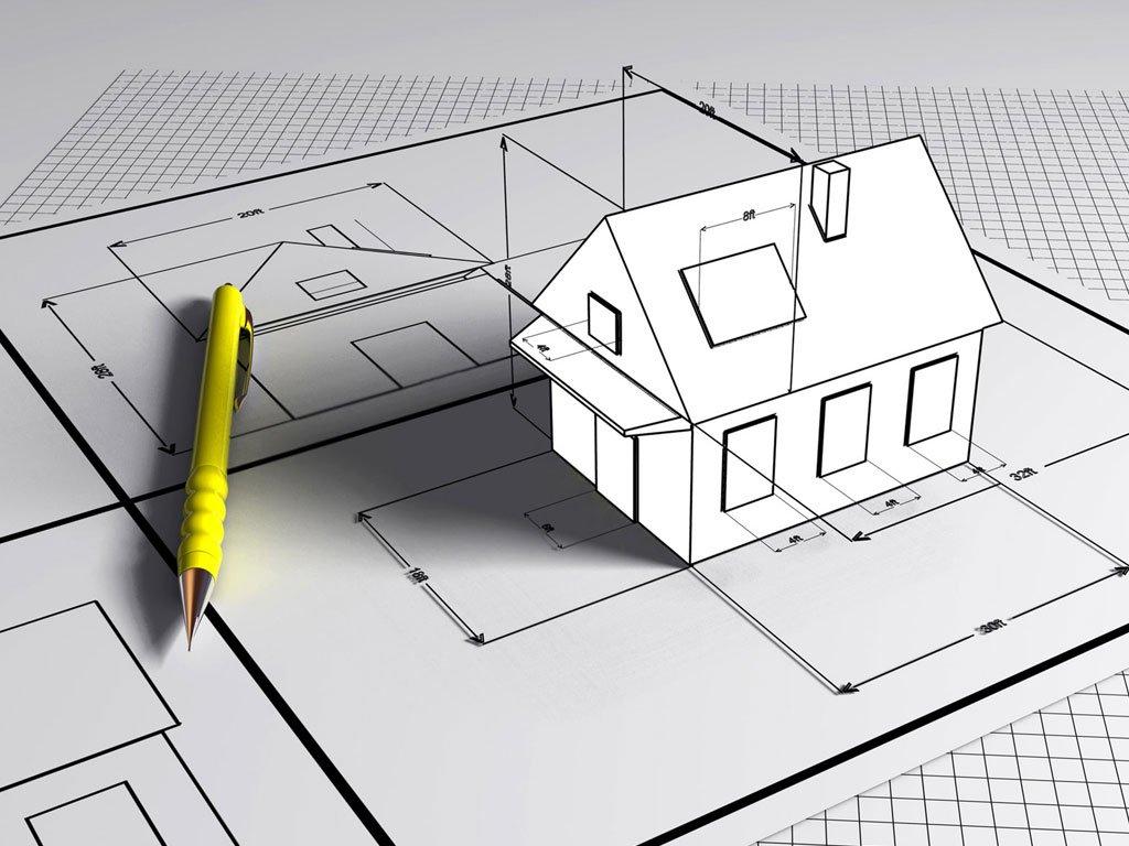 чертеж дома и его реализация картинка должен признать