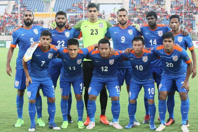 Great team work and verry important away 3 points and Good goal from @chetrisunil11 #Asian cup qualifiers #teamindia #backtheblue #JJ12<br>http://pic.twitter.com/De1U7U6gQJ