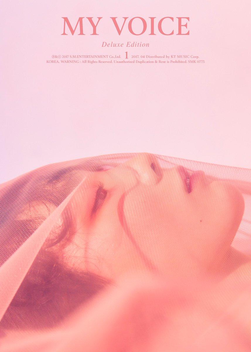 #GirlsGeneration(@GirlsGeneration) #TAEYEON \'#MYVOICE\' DELUXE EDITION 👉