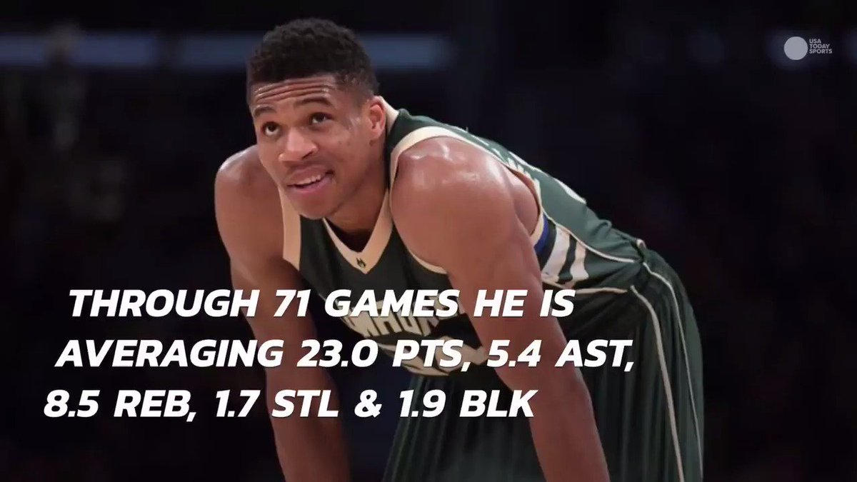 Giannis Antetokounmpo is having a historically great season: https://t...