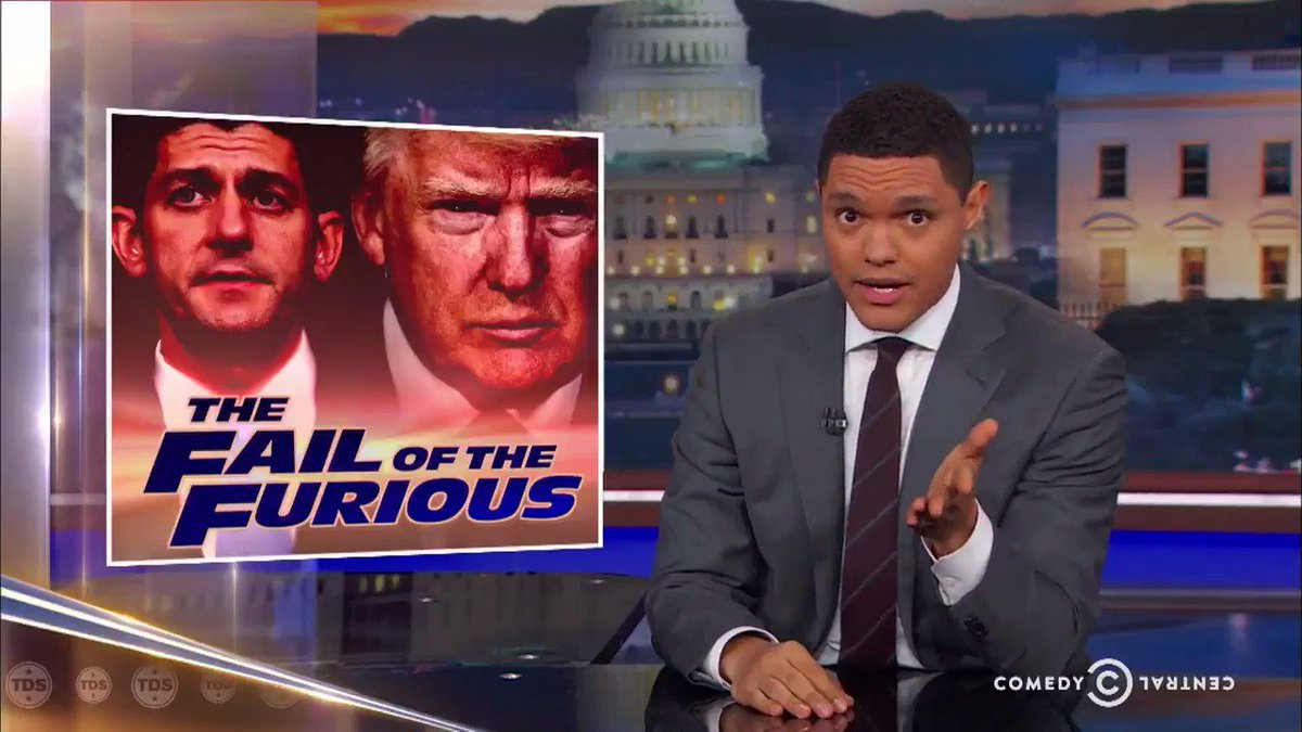 The #DailyShow offers some sympathy to a beleaguered Paul Ryan in the...