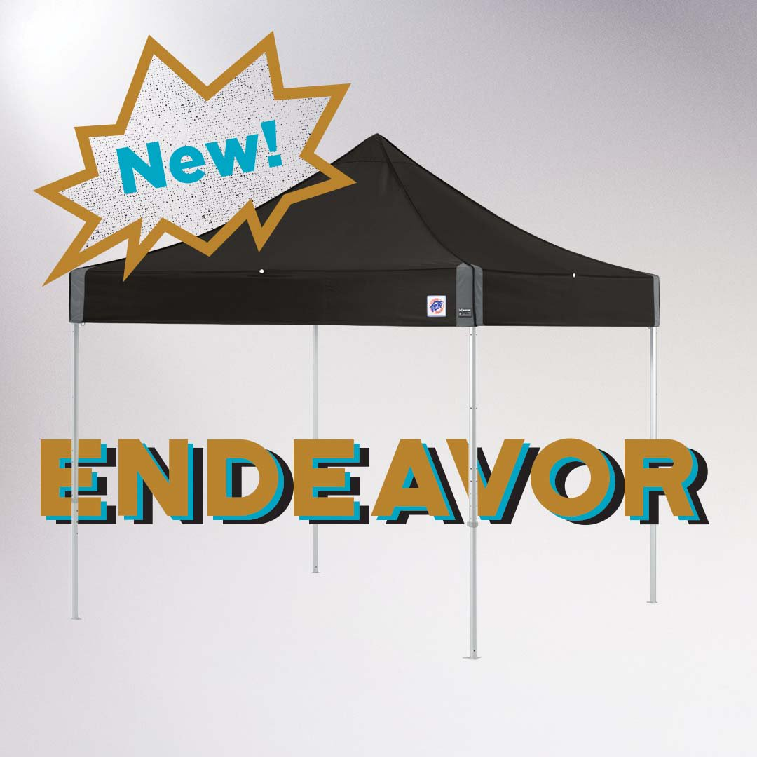 New! E-Z up Endeavor Instant Shelter. Strongest and most durable in the world. Check out our website for more details 🙌🏼 #InstantShelter