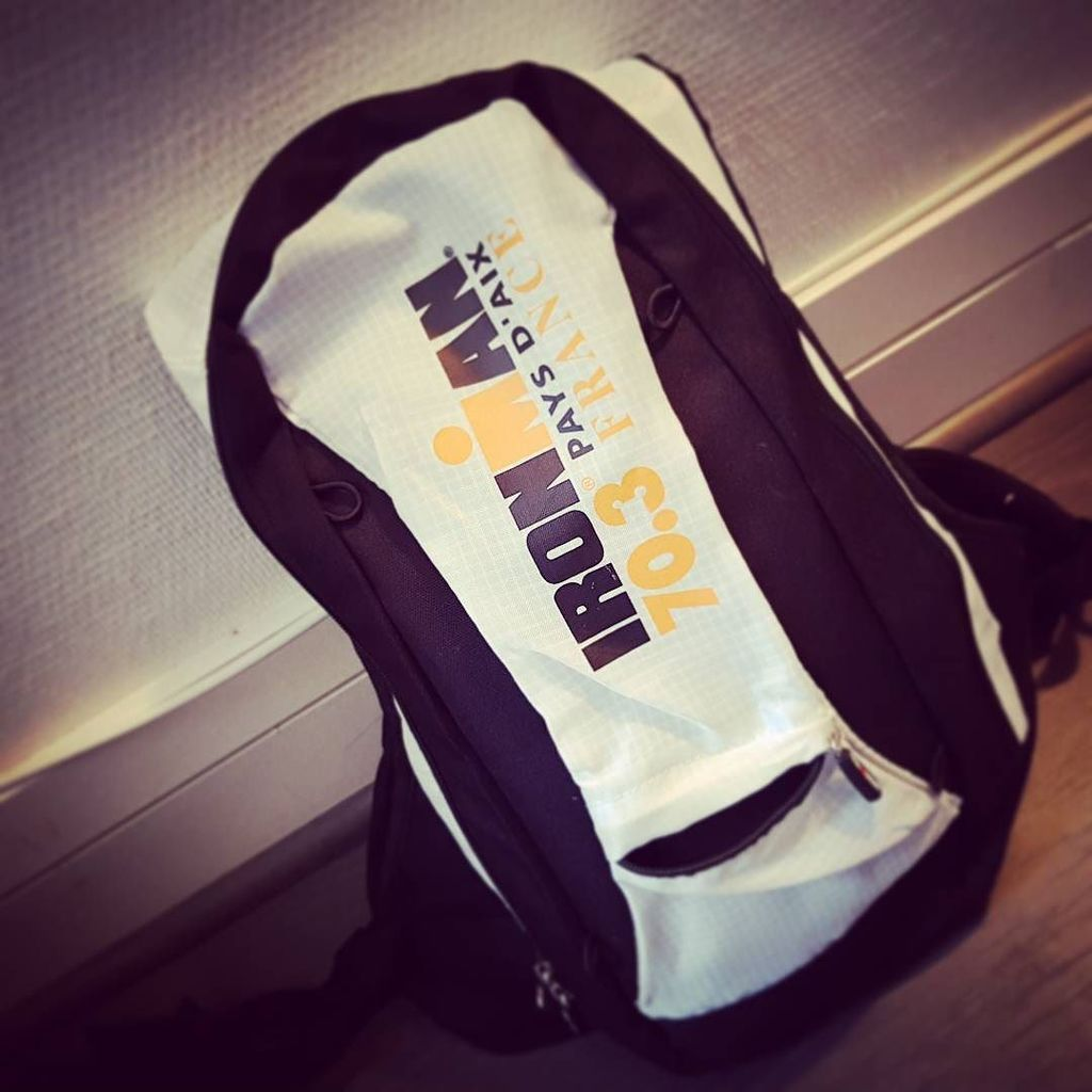 On se met dans l ambiance @ironman_france #ironman #triathlon #backpack #training  http:// ift.tt/2ocnyDb  &nbsp;  <br>http://pic.twitter.com/wZxy7haCKo