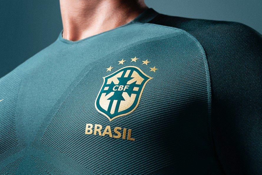 bc03dfb8378 Novo terceiro uniforme da  SeleçãoBrasileira. Ousadia + habilidade + raça +  comprometimento