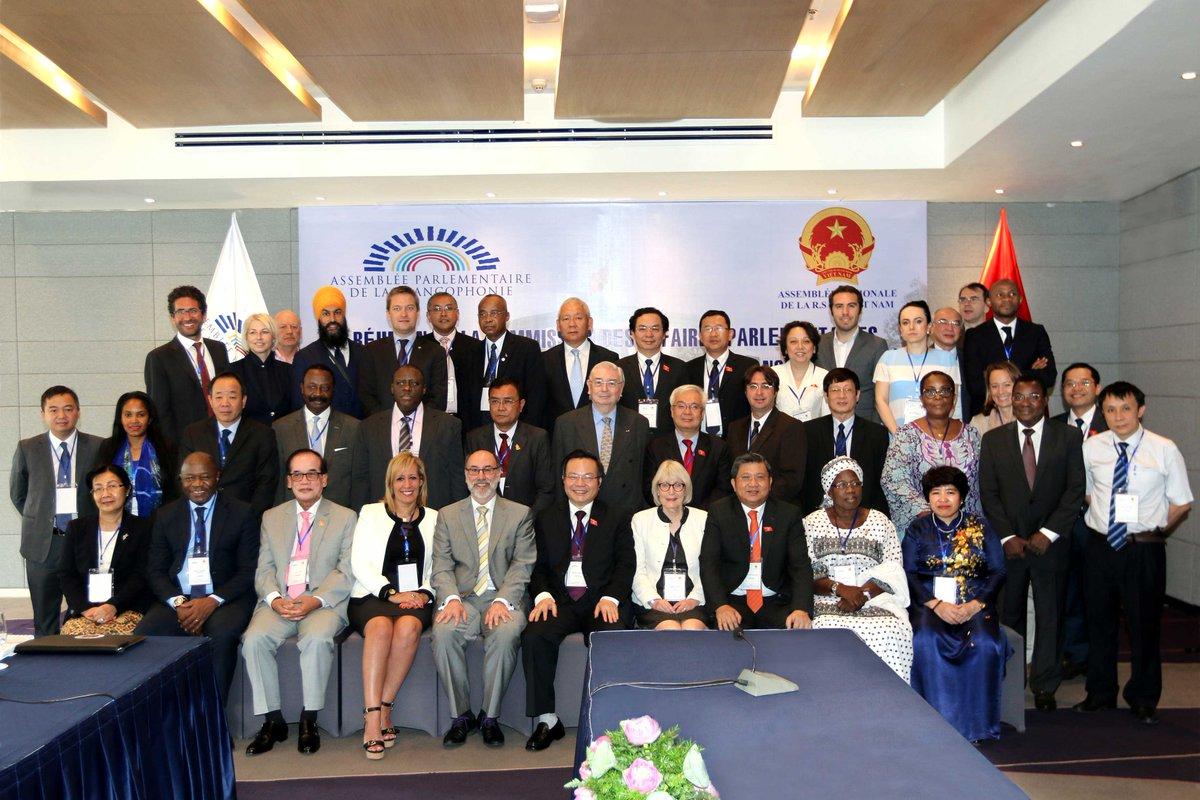 La #coopération au coeur de la mission de la #Commission des affaires #parlementaires #Francophonie #Vietnam :  http:// bit.ly/2nHr2Qp  &nbsp;  <br>http://pic.twitter.com/ArJzWd3vdt