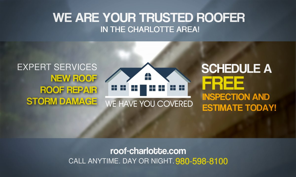FREE #Local #Roof #Repair Estimates We Evaluate Your Needs 980-598-8100  http:// roof-charlotte.com  &nbsp;   #RT #home #fixit <br>http://pic.twitter.com/od8JILIn58