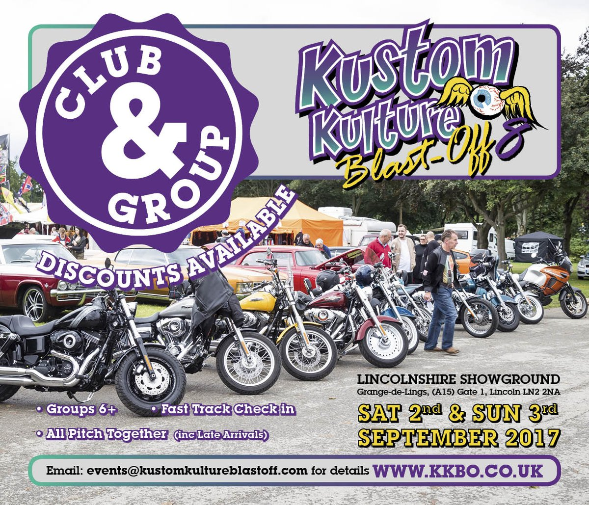 "Kustom Kulture Blastoff On Twitter: ""Get Your Group Booked"