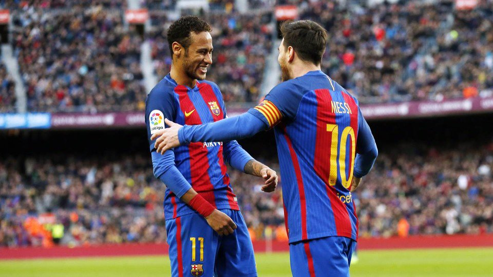 🔊 @neymarjr: 'Messi was a great help when I first arrived' https://t.c...
