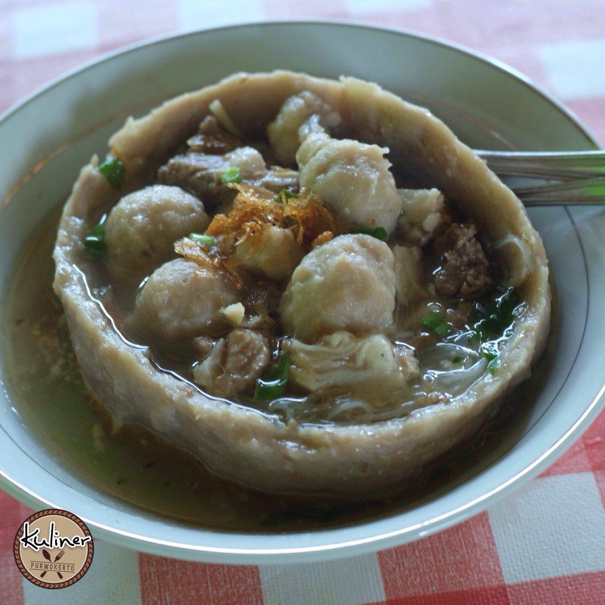 Kuliner Purwokerto On Twitter Bakso Mangkok Rp 19 500