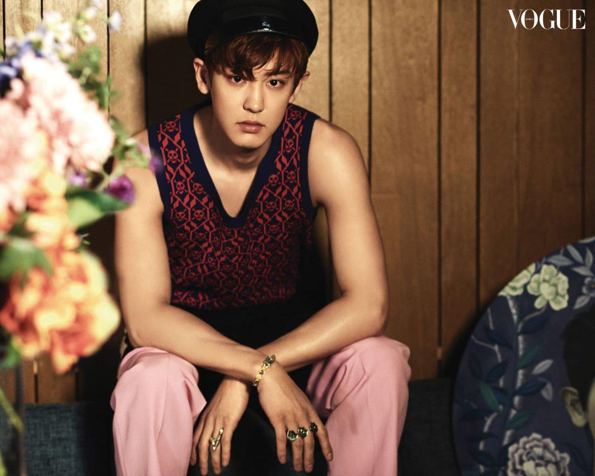 170328 Vogue Korea website update with #EXO Chanyeol, D.O., Kai, and Sehun