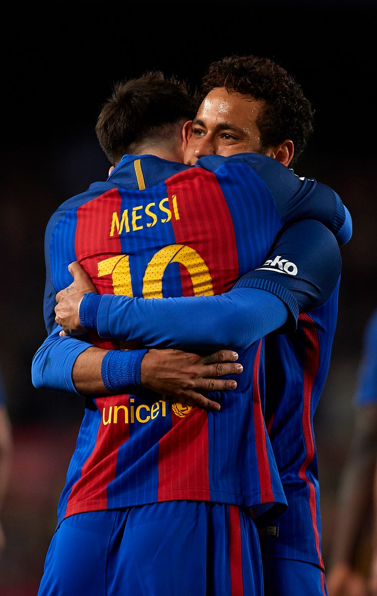 Neymar: 'Messi is the best player I have ever played with. I have lear...