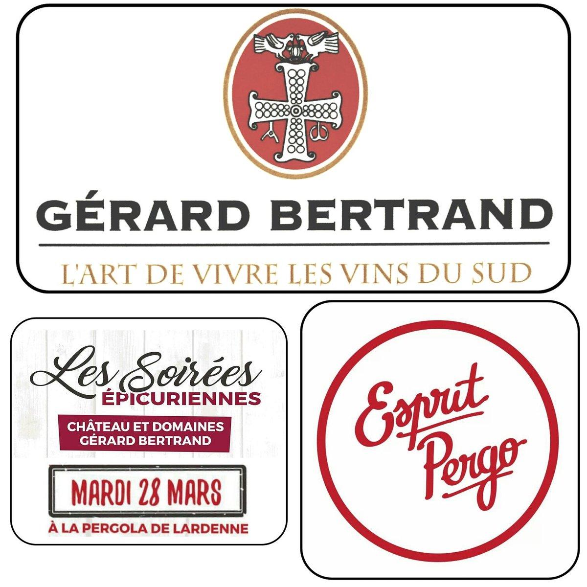 La dernière soirée #épicurienne à la Pergola c&#39;est ce soir !! #sortie #Toulouse #espritpergo #vins #gerardbertrand<br>http://pic.twitter.com/3leV3XuODb