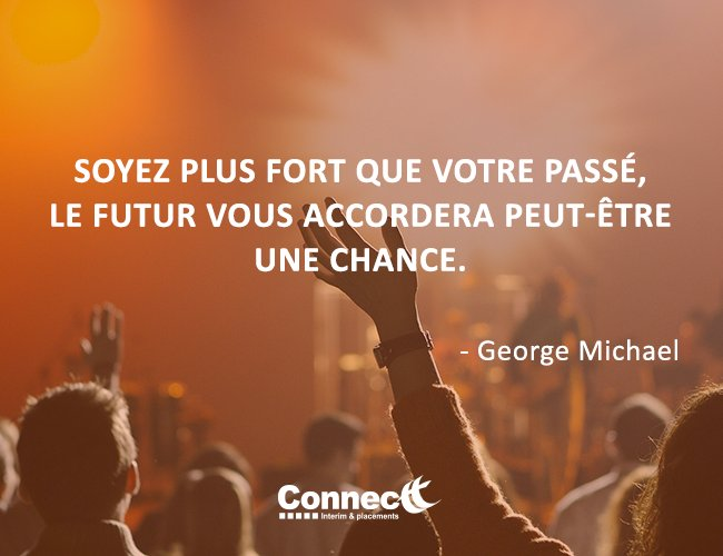 Citation du jour. #Connectt #travail #temporaire #citation #chance  <br>http://pic.twitter.com/5N4xibqfHZ