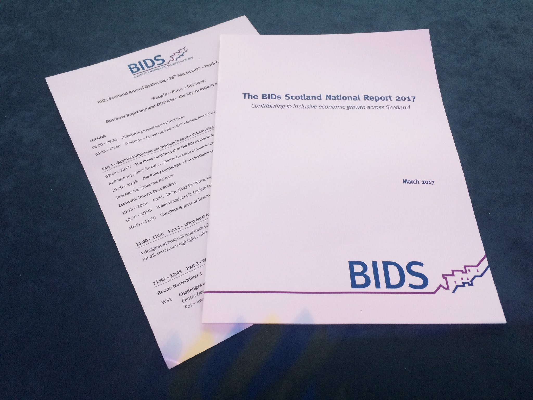 Our National Report on BIDs in Scotland 2017 was published this week, check it out here: https://t.co/ZjhPoX2sss #BIDSGathering https://t.co/353uuTAMnk