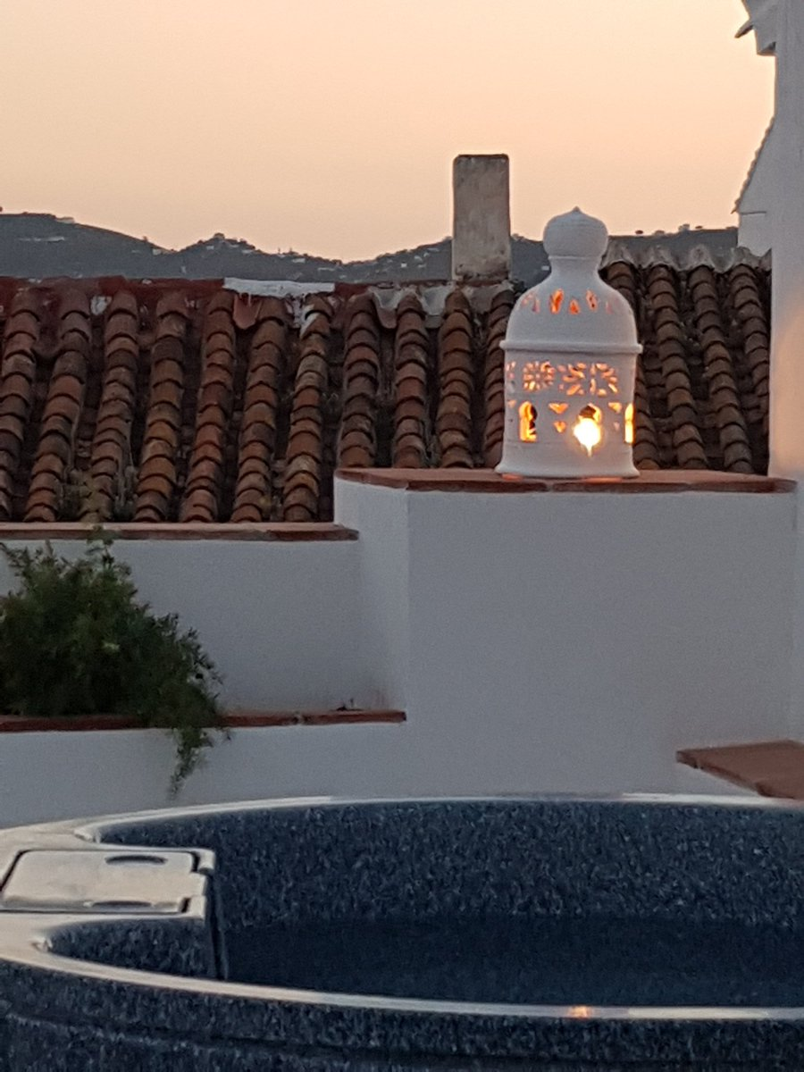 #Sunset on our #roof terrace #Millersfrigiliana<br>http://pic.twitter.com/vQj1AwPxQi