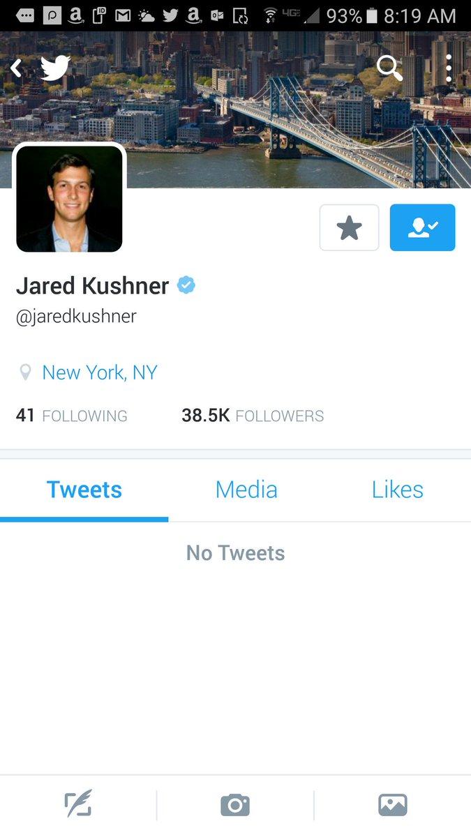 &quot;No comment&quot; #JaredKushner #russiagate #tcot #p2 #POTUS <br>http://pic.twitter.com/1poPMEtu4H