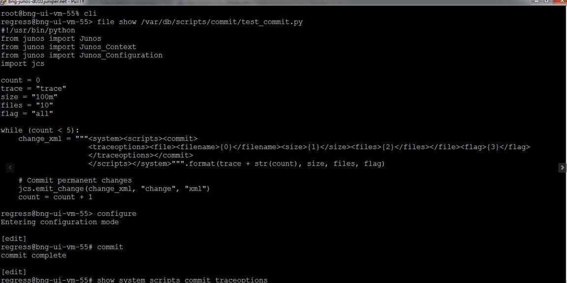 Yes, it's true… Python script is supported on Junos OS. https://t.co/jIvtN4T2kt https://t.co/qU9wMoRHSj