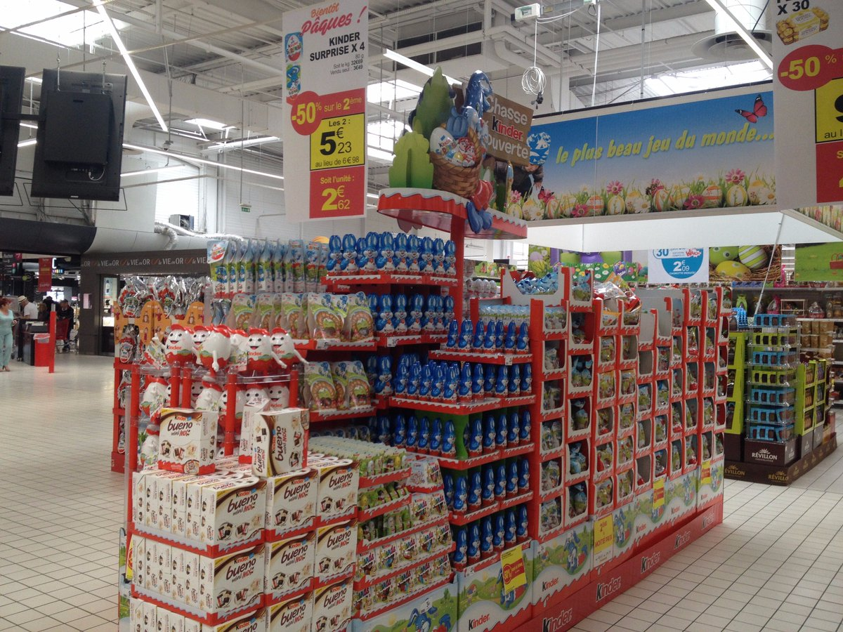 Les chocolats de pâques sont arrivés dans votre magasin @AuchanPerpignan #lechocolatc&#39;estbonpourlemoral #Auchan #printemps<br>http://pic.twitter.com/DaetYDBHKv