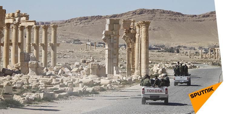 La route #Damas -#Palmyre libérée des djihadistes de #Daech   http:// sptnkne.ws/dV3D  &nbsp;  <br>http://pic.twitter.com/QxDPezd4Di