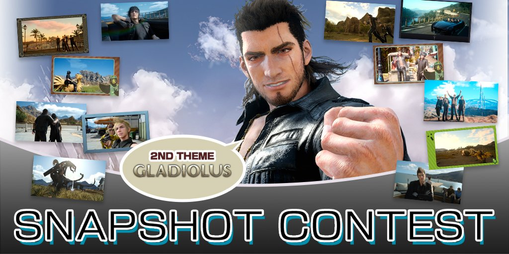 final fantasy xv on twitter the 2nd ffxv snapshot contest has