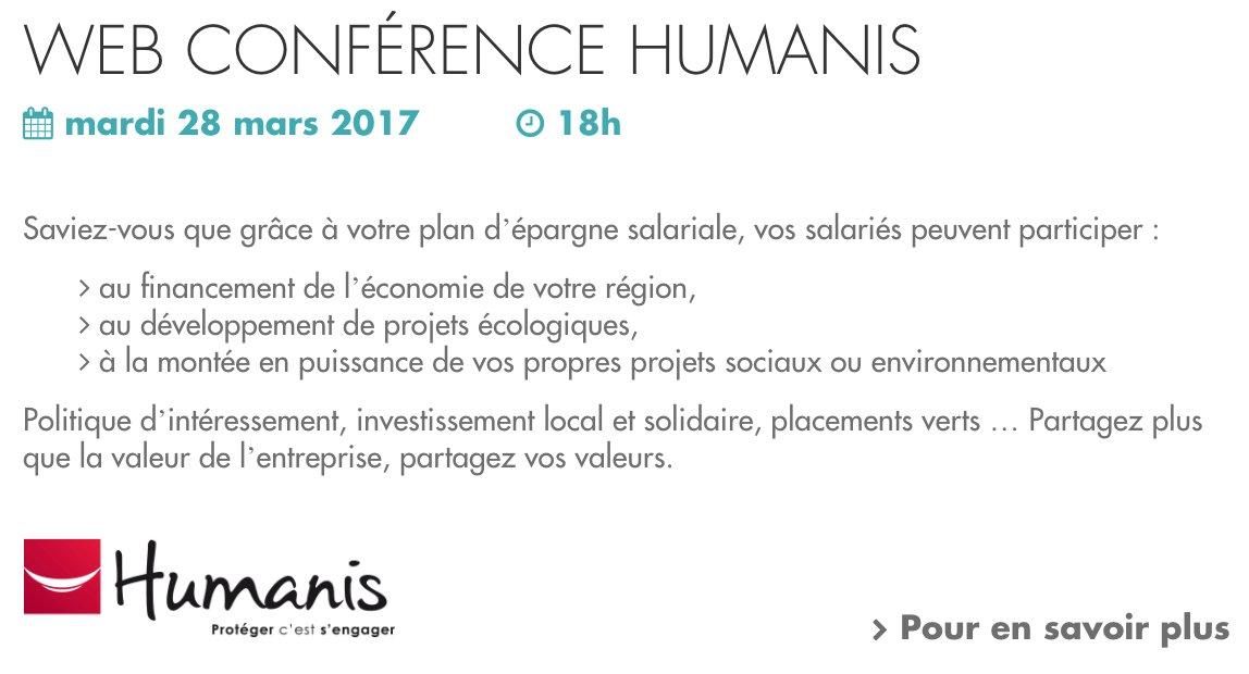 Notre membre @HumanisActu s&#39;engage pour la Semaine de l&#39;#EpargneSalariale et la #financeresponsable.  http:// epargnesalariale-france.fr/agenda/  &nbsp;   #ISR #climat <br>http://pic.twitter.com/Y4wswOBJ2h