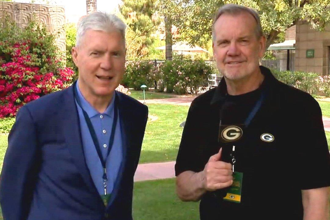 1-on-1 with #Packers GM Ted Thompson at the League Meeting.  :  http:// pckrs.com/gpcn  &nbsp;  <br>http://pic.twitter.com/zHIsKpenzb
