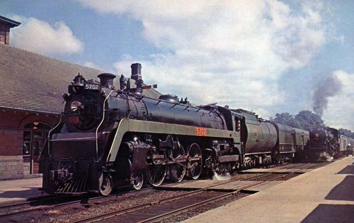 Image result for canadian national 4-6-4