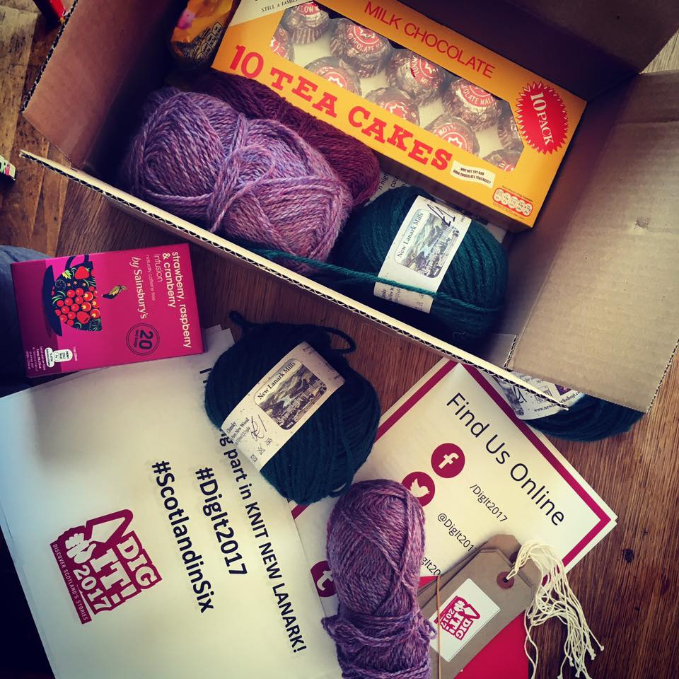 Sounds like Eilidh Scott loves her yarnbombing kit for #Knit New Lanark!  Event details at https://t.co/YVo4lqyzmM https://t.co/BinV52BwQu