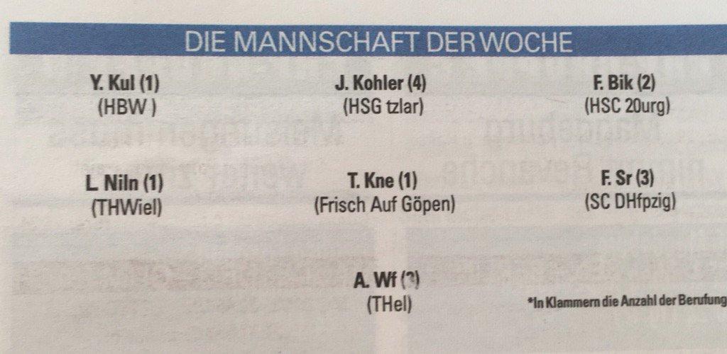 Wer knackt das Rätsel der @Handballwoche! 🤔#waspassiertpassiert 😉#dkbhbl https://t.co/mg8CYkaykk