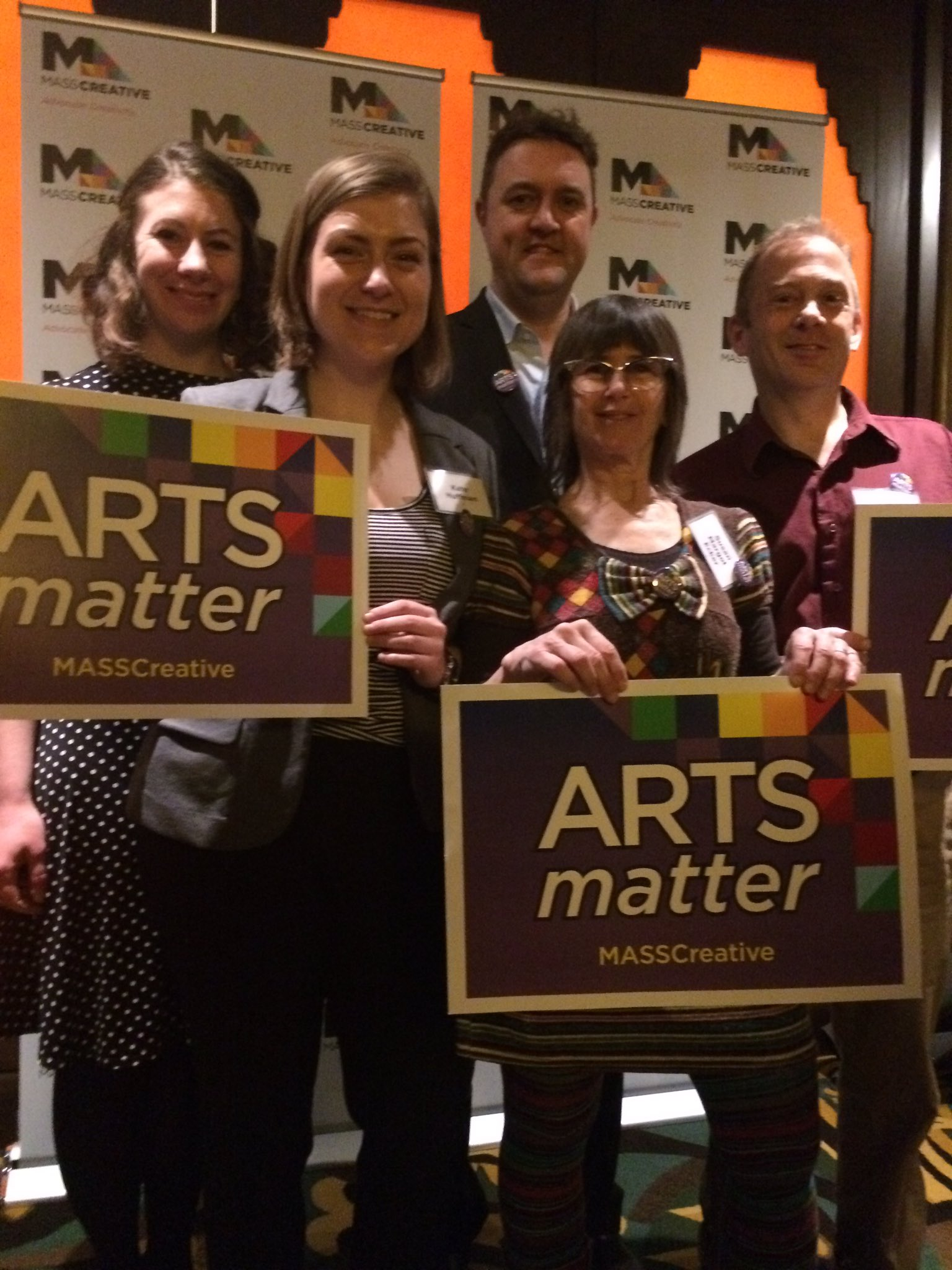 #EncoreTours staff at #AMAD17 Excited to advocate for the arts! @MASSCreative #artsmatter #musicmoves #musiced https://t.co/4jKW7zSs6p