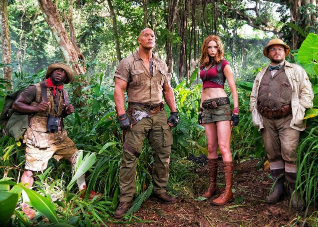 Jumanji reboot is about a video game, which supposedly explains Karen...