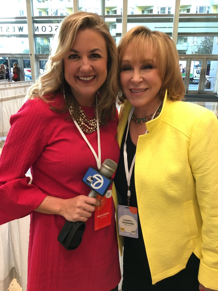 .@CherylABC7 and @amyhollyfield are at the #PBWC and ready to be inspi...