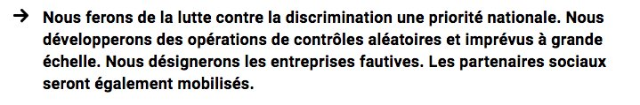 #ParleCommeMacron : Nous ferons de la lutte contre les discriminations une priorité nationale #EnMarche #Macron2017 <br>http://pic.twitter.com/fAmdAsPJFV