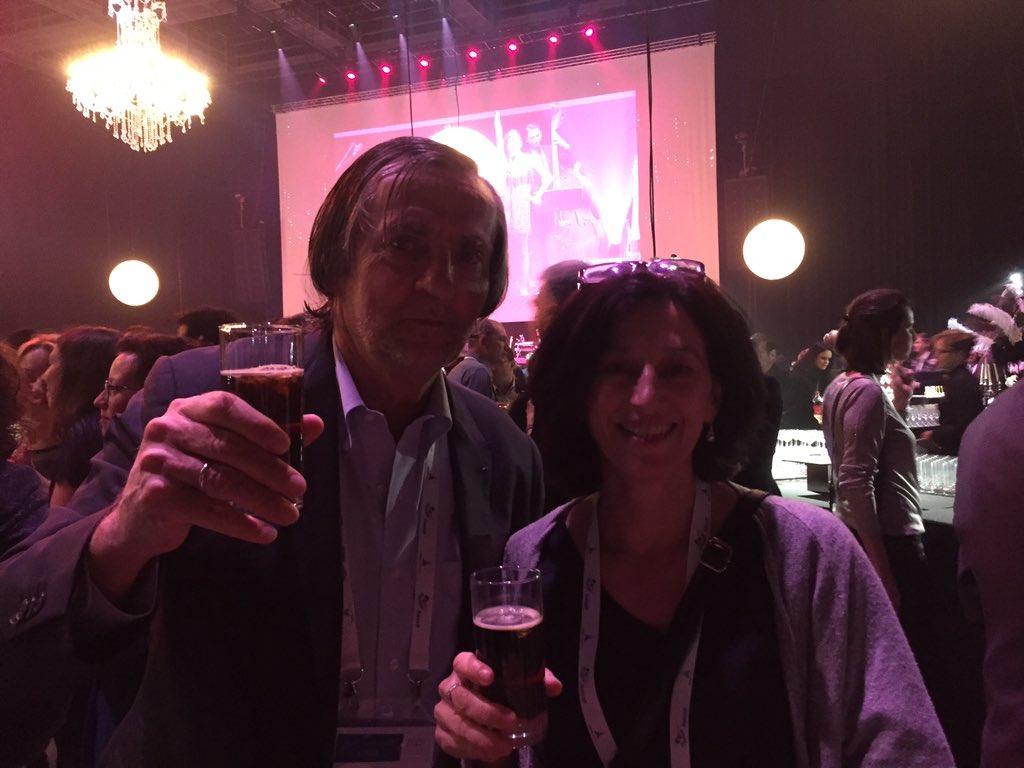 JP Pérol Et D Maulin , #soiréefrance #salonRDVF tchin! #enjoy <br>http://pic.twitter.com/GqpKFwGXX9