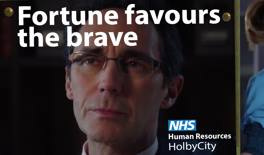 Fortune favours the brave. Mr Hanssen says it so it must be true #Holb...